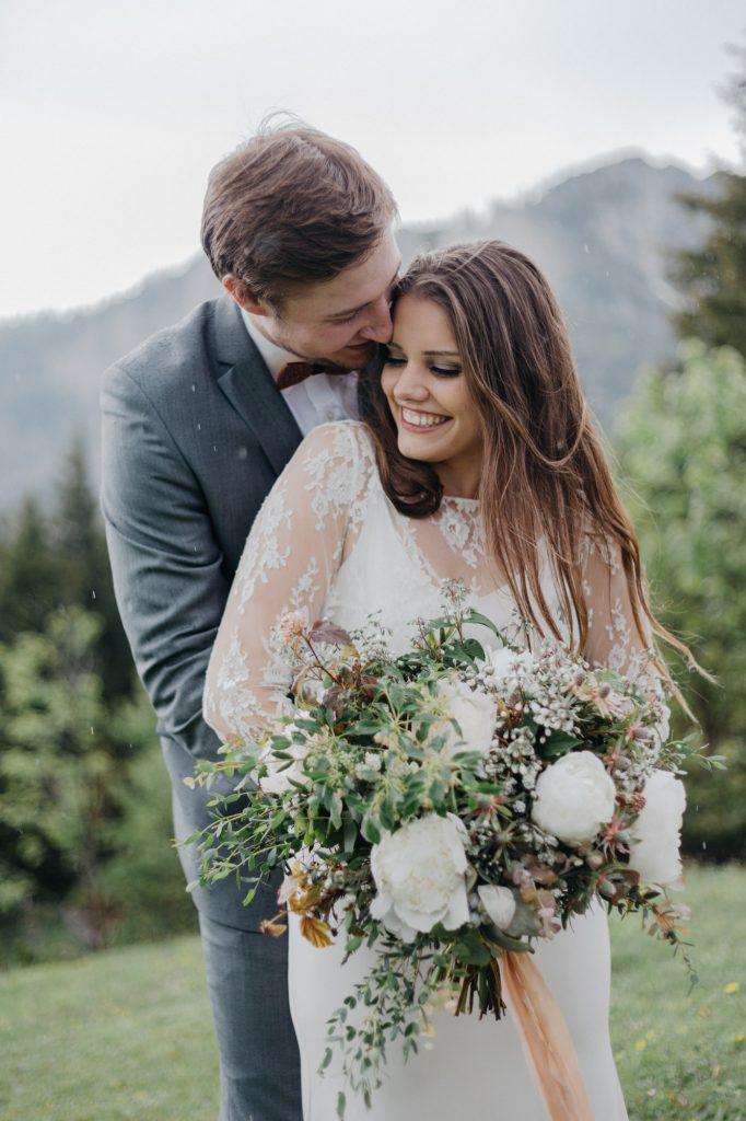 Hochzeitsfotografin Berge